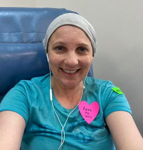 Jo's cancer treatment